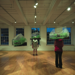 "MASS MoCa ""Village Green"" by Vaughn Bell, photo by Kevin Kennefick"